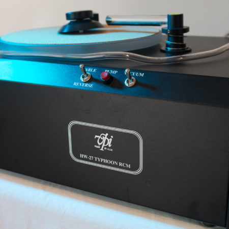 Top End Record Cleaning Machine